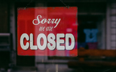 4 Tips for Recovering from a Small Business Closure